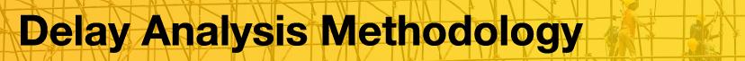 Delay Analysis Methodology